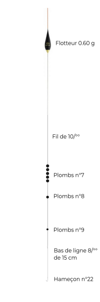 schéma montage étang