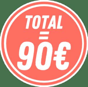 rond prix 90€
