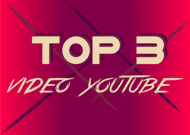 Top 3 vidéo youtube