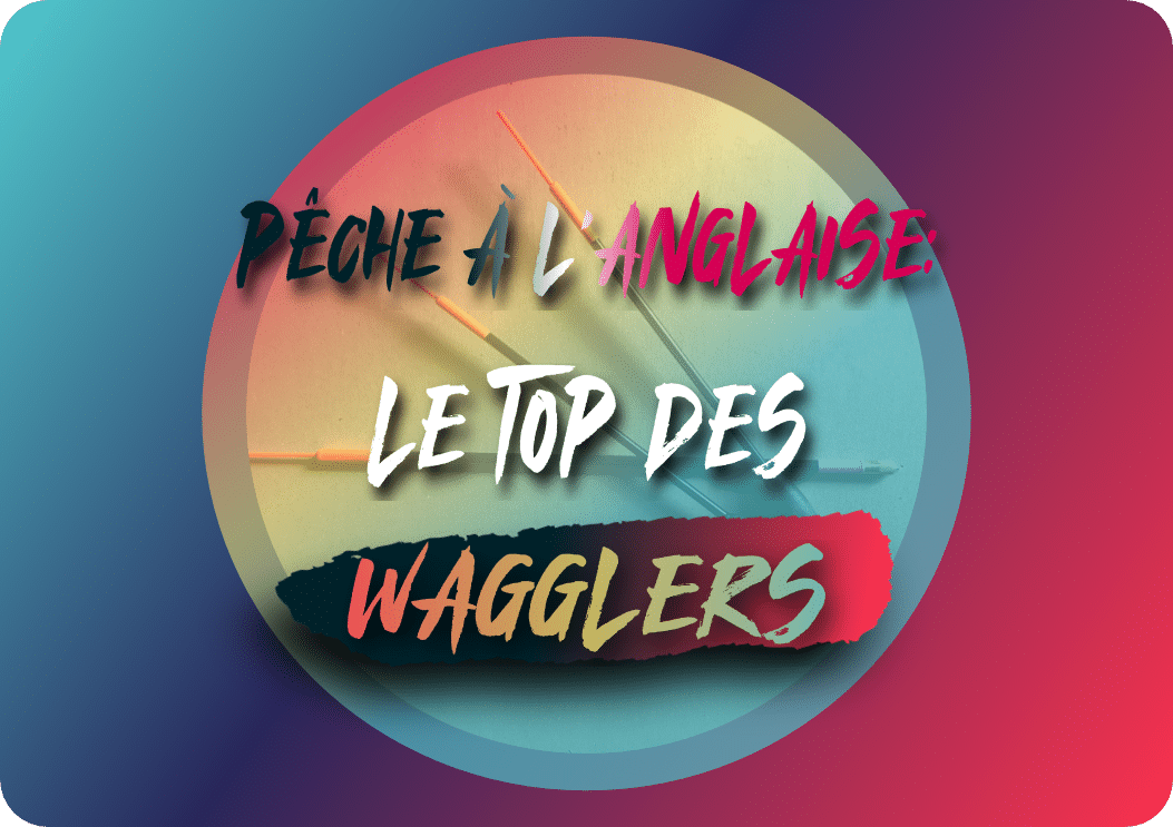 Pêche à l'anglaise: le top des wagglers